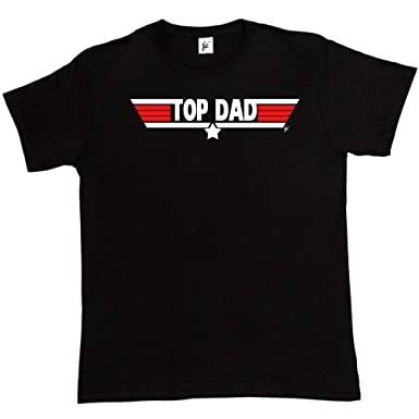 Top Dad Top Gun Parody T-shirt Gift