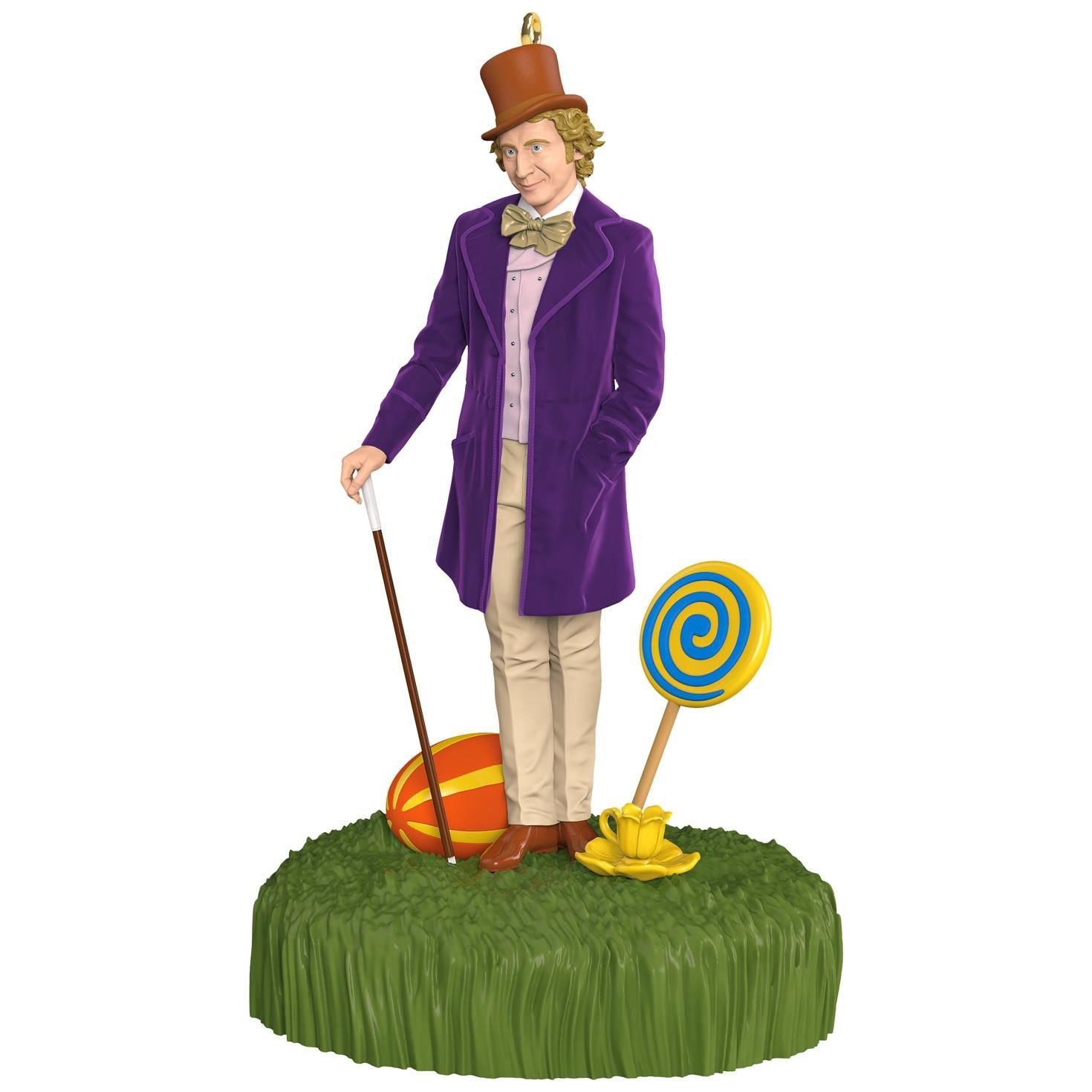 Willy Wonka and The Chocolate Factory Sound Ornament Movies & TV