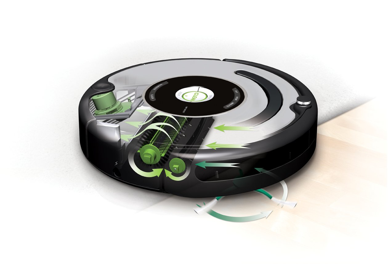 iRobot 560 Roomba Vacuuming Robot, Black and Silver(Versin EE.UU., importado): Amazon.es: Hogar
