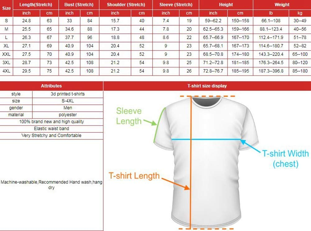 WJuing Camiseta 3D Manga cortaDibujos Animados Camiseta De Pl/átanos Camisetas Frescas Camiseta 3D Ropa para Hombre Camisas De Galaxias De China Estilo Chino Camiseta Impresa Streetwear