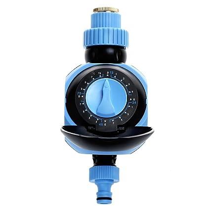 Shuzhen,Temporizador de riego automático para el riego de Jardines domésticos(Color:Azul