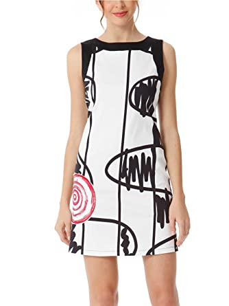 Blanche Robe Aume BlancAmazon 36 Couleur Desigual Taille Maillot xCordeWB