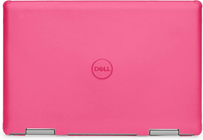 "mCover Hard Shell Case for 14"" Dell Inspiron 14 5481 2-in-1 Series Laptop Computers (NOT Compatible with Other Dell Inspiron Series) (Pink)"