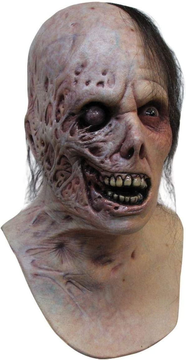 Máscara de zombie quemado adulto Halloween - Única: Amazon.es: Electrónica