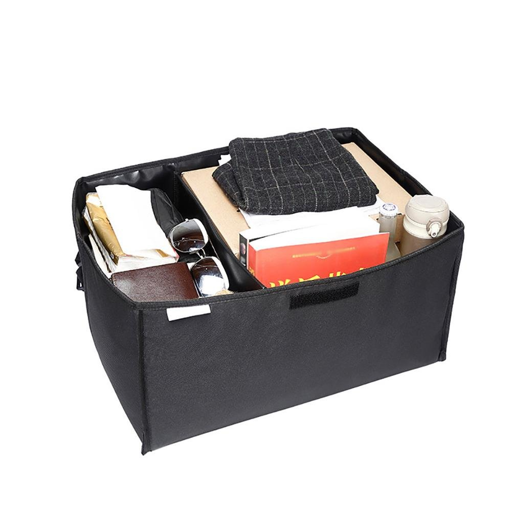 Car Trunk Organizer Collapsible Portable Multifunctional Finishing Box Sundries Bag-Can Be Used on One Shoulder ( 5L )Black542736cm