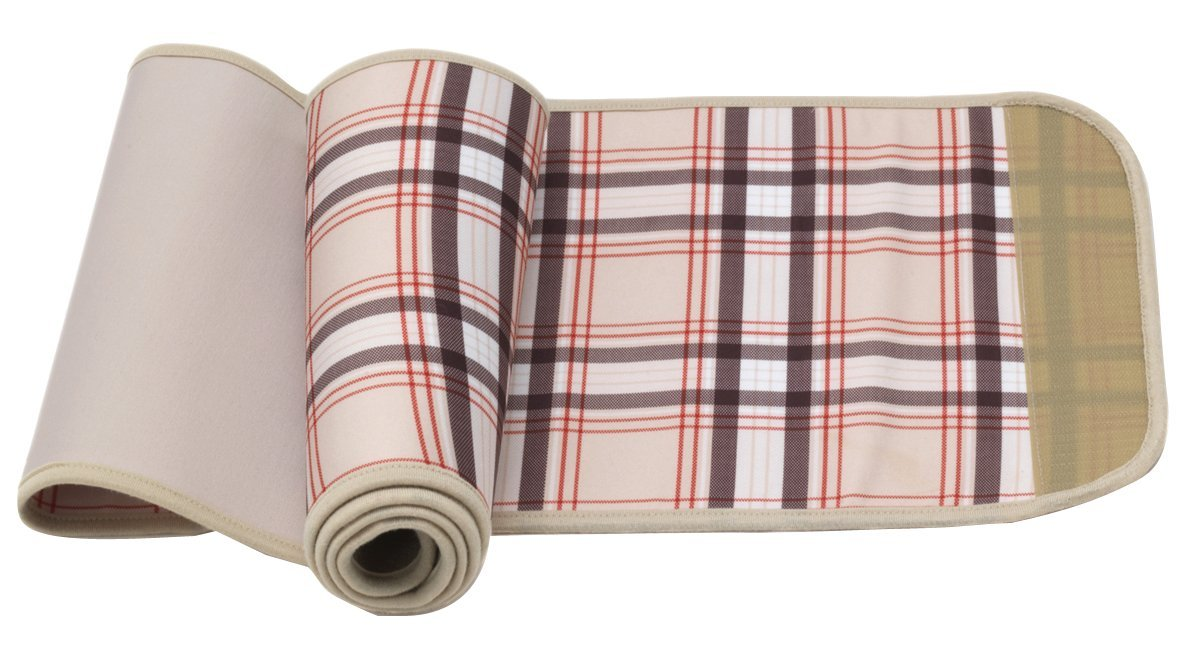 Belly Bandit Couture Belly Wrap (Large, Nude Plaid)