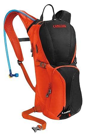 CamelBak Lobo - Mochila de hidratación, Color Gris/Rojo, 3 l: Amazon.es: Deportes y aire libre