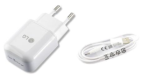Cargador Original LG MCS-H05ER Carga Rapida para LG G5,Nexus ...