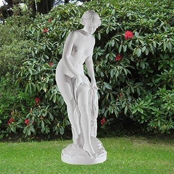 Large Marble Statues - Bathing Goddess 65cm Roman Garden