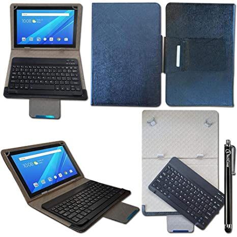 new concept 483a3 1ccdc iTechCover® Bluetooth Keyboard Case for Lenovo YOGA Tab: Amazon.co ...