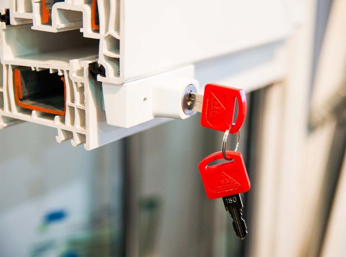 Drehsperre braun Kindersicherung Fenstersicherung Fensterschloss von BSL Einbruchschutz 10 St/ück