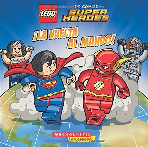 vuelta mundo Super Heroes Spanish