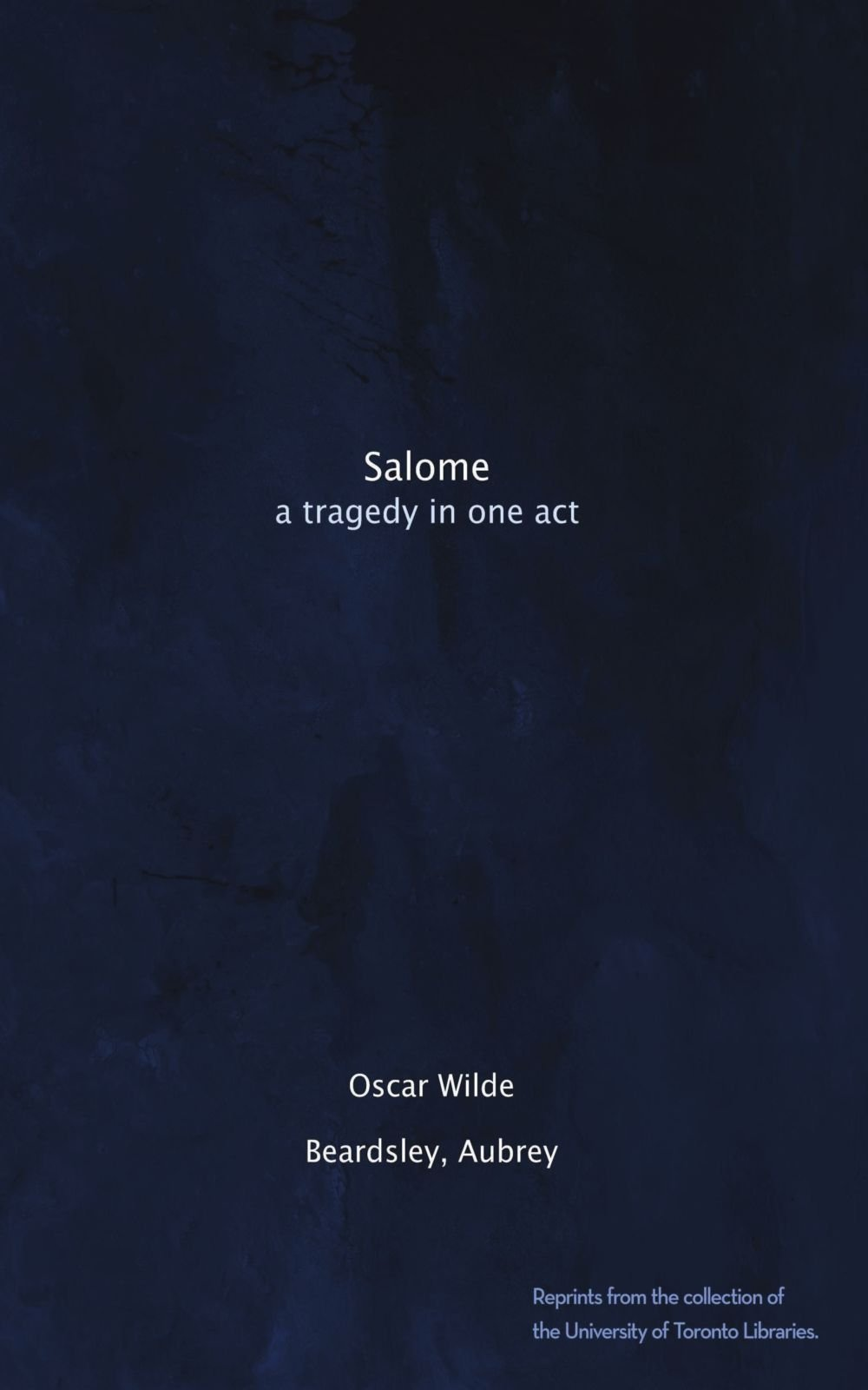 Salome: a tragedy in one act pdf