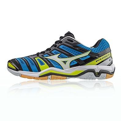 best service fe5b5 74d96 Mizuno Wave Stealth 4 Chaussure Sport en Salle - AW17-44  Amazon.fr   Chaussures et Sacs