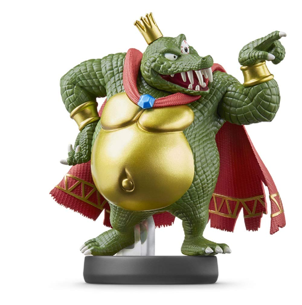 Nintendo amiibo - King K. Rool - Super Smash Bros. Series japan import
