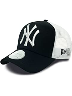 3d9ae93ecc9 New Era Men s MLB Basic NY Yankees 39Thirty Stretch Back Baseball ...