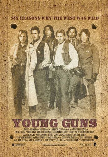 Young Guns POSTER Movie (27 x 40 Inches - 69cm x 102cm) (1988) (Style B)