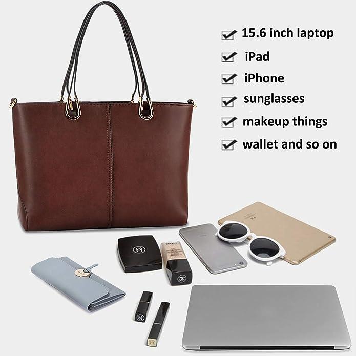 Amazon.com: Bolsa para ordenador portátil de 15,6