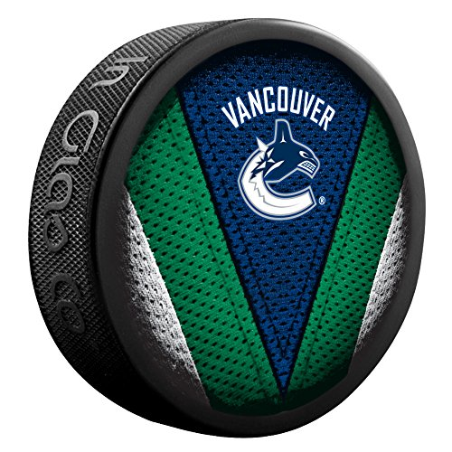 Vancouver Canucks de point de Jersey et Collection hockey Puck NHL 510AN000594