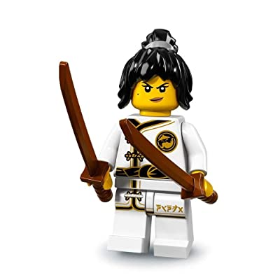 LEGO Ninjago Movie Minifigures Series 71019 - Spinjitzu Training Nya: Toys & Games