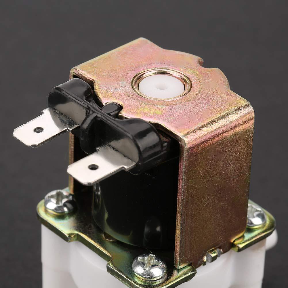 Magnet-Wasserventil 12 V N//C Elektrisches Magnetventil Waschmaschine normalerweise geschlossen Elektromagnetisches Einlass-Wasserventil f/ür Reinwassermaschine Wasserspender