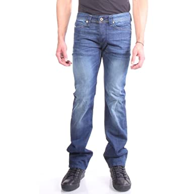 bfe85b52 Amazon.com: Diesel Men's Viker Straight Leg Jean U0824 Denim Jeans ...