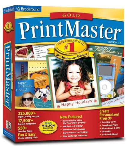 Software : Printmaster Gold V 17.0