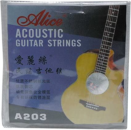 Paquete de cuerdas para guitarra acústica: Amazon.es: Instrumentos ...