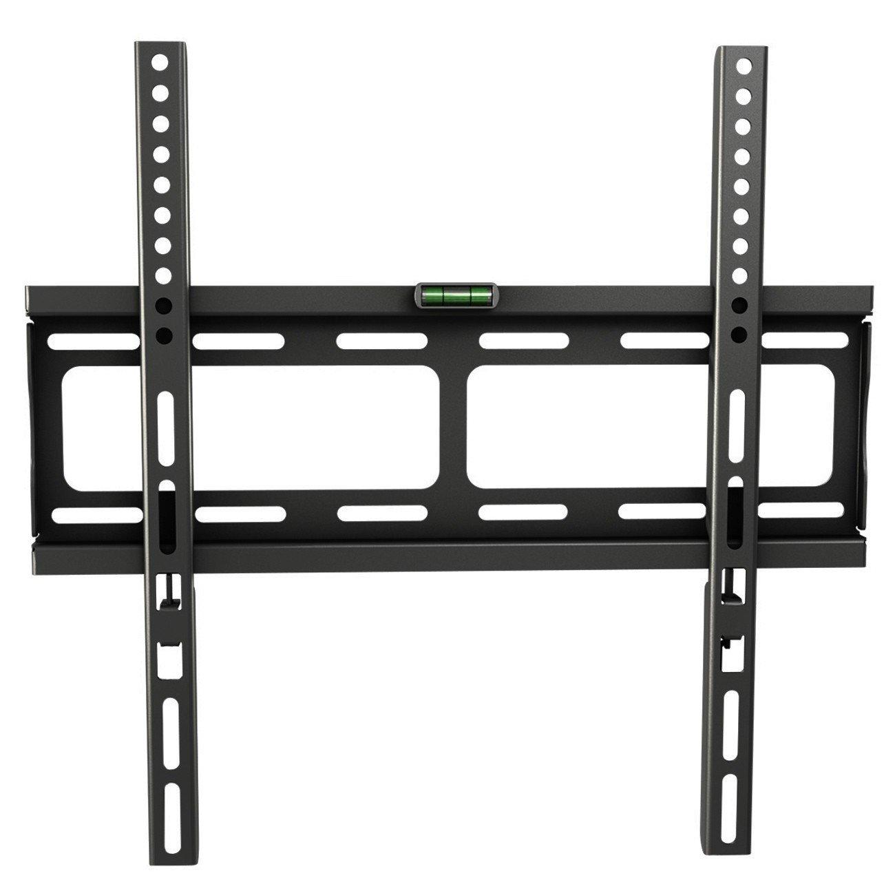 RICOO F0244 supporto TV a parete fisso, non orientabile per schermo PC Plasma Smart OLED curvo
