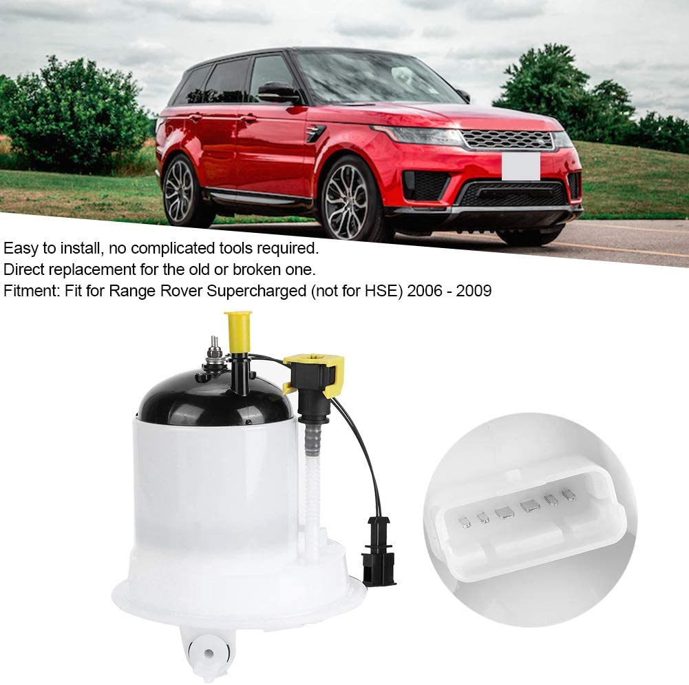 WGC500140 Fuel Pump Assembly Car Fuel Pump Assembly Fuel Filter Fit for Range Rover Supercharged L322 2006 ‑ 2009