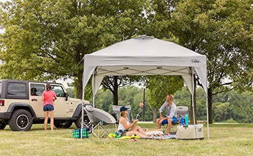 CORE 10' x 10' Instant Shelter Pop-Up Canopy Tent with Wheeled Carry Bag 4