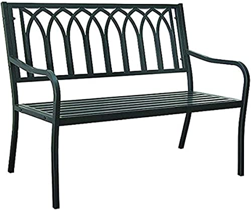 Innova Hearth and Home S548-01 Lakeside Steel Bench