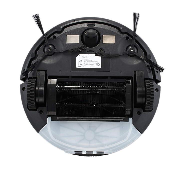 Robot Aspirador,Limpieza del Hogar Robot, con Control Remoto Succión Fuerte Tecnología De Detección De Caídas 4 Modos De Limpieza, Todo Tipo De Suelos ...