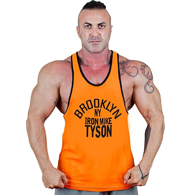 b688a55e07d1b CRAZYBODIES Brooklyn Men s Stringer Bodybuilding Fitness Muscle Workout Gym  Tank Tops (Small
