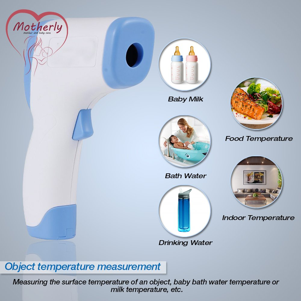 Motherly Baby Infrared Digital Thermometer Non-contact Digital Laser ...