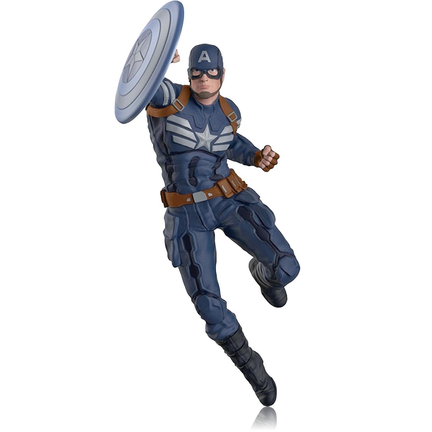 Captain America - The Winter Soldier - 2014 Hallmark Keepsake Ornament