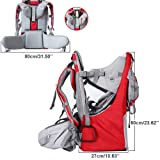 New Baby Toddler Hiking Backpack Carrier Stand