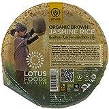 Lotus Foods Organic Rice Bowl - Brown Jasmine - 7.4 oz - 6 Pack