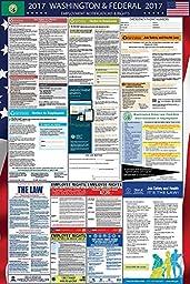2017 Washington and Federal Labor Law Poster Laminated