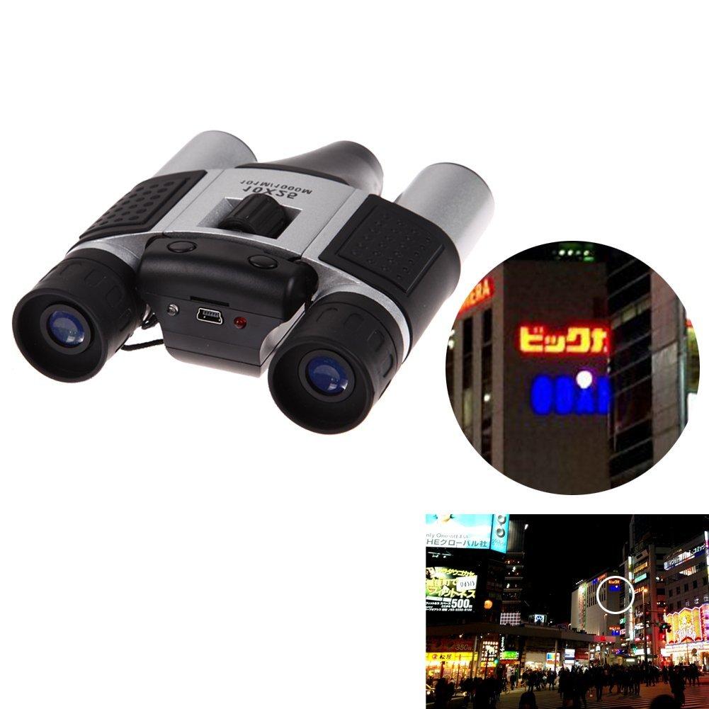 Chinatera 1.3MP CMOS Sensor 10 X 25 HD Digital Telescope Camera Binoculars Video Recording 101m/1000m