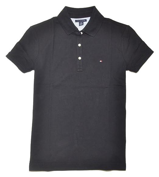 19cfac1e Tommy Hilfiger Women's Wo Classic Fit Polo Shirt: Amazon.co.uk: Clothing