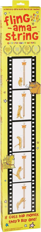 Moody Pet Fling-AMA-String Cat Toy : Pet Supplies