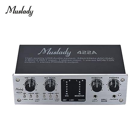 Kalaok 422A Interfaz del sistema de audio USB de 4 canales ...