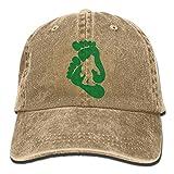 LETI LISW BigfootClassicDenim Cap Adult Unisex Adjustable Hat