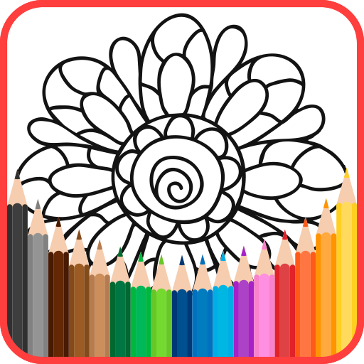 Adult Coloring Book -