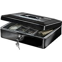 SentrySafe CB-12 - Caja de Dinero con charola y Cerradura para Llaves, Color Negro
