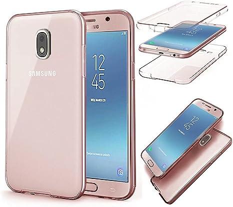 QianYang Funda Samsung Galaxy J3 2017 Transparente Silicona Fundas Para Samsung J3 2017 Carcasa Silicona Funda Carcasa Protectora Case para J3 2017 (5,0 Pulgadas SM-J330F): Amazon.es: Electrónica