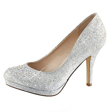 383f71a675c Heels-Perfect Women s Closed  Amazon.co.uk  Shoes   Bags