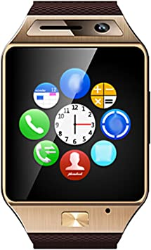 GV08S Bluetooth 3.0 Smart reloj TFT touch pantalla con cámara para Samsung Galaxy S6/S5/S4/S3Sony LG: Amazon.es: Electrónica
