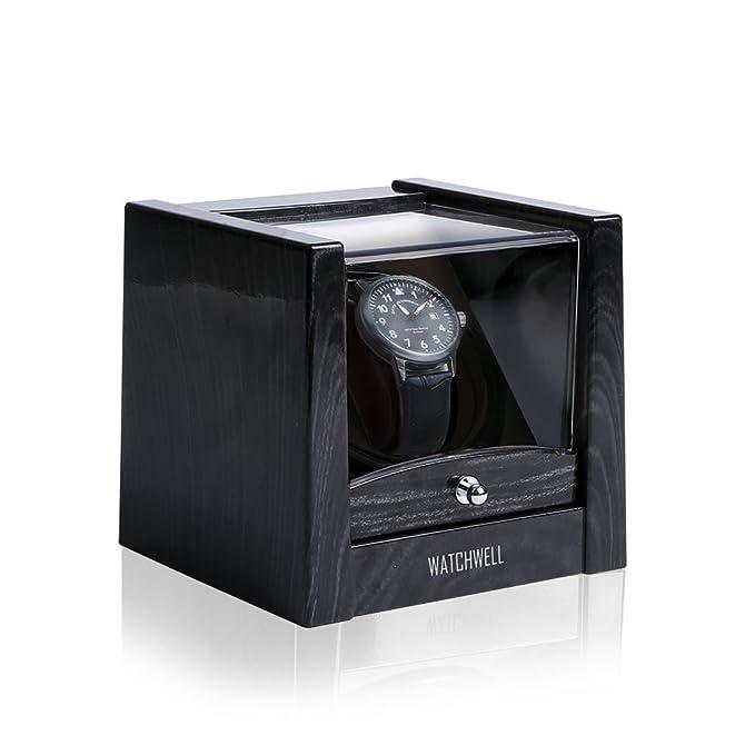 Uhrenbeweger Uhrenbox für 2 Uhren Watchwinder Automatisch Uhrendreher Kasten HDS